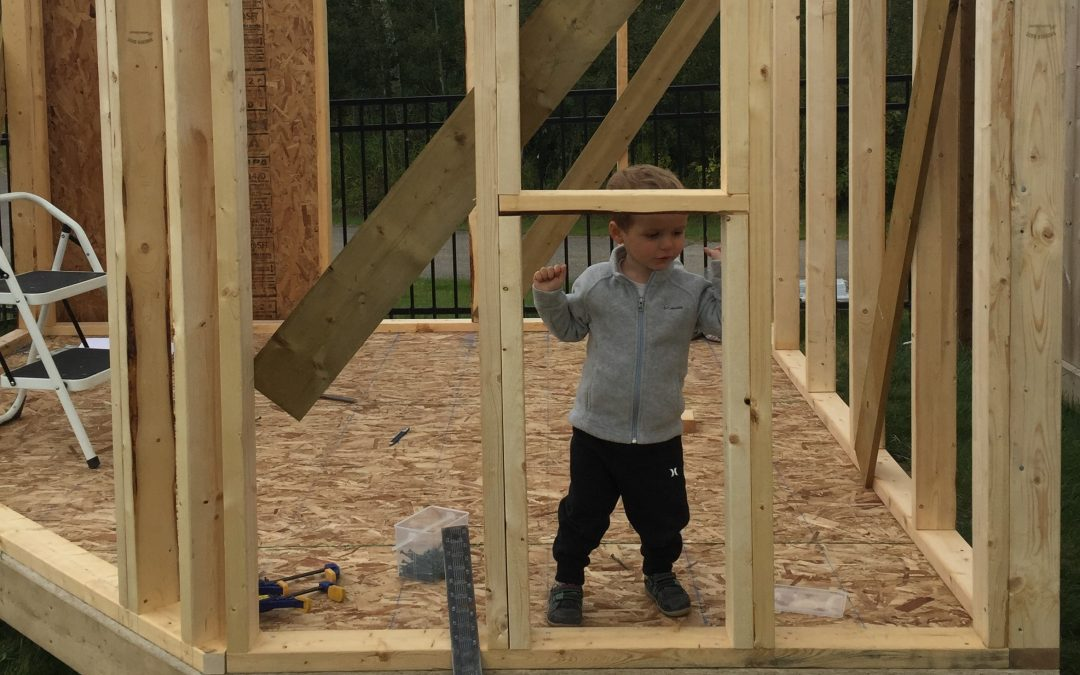 Building a shed – in 10 simple steps